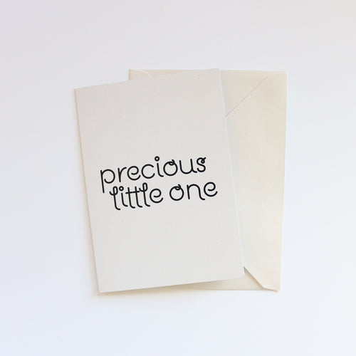 'Precious Little One' Greeting Card