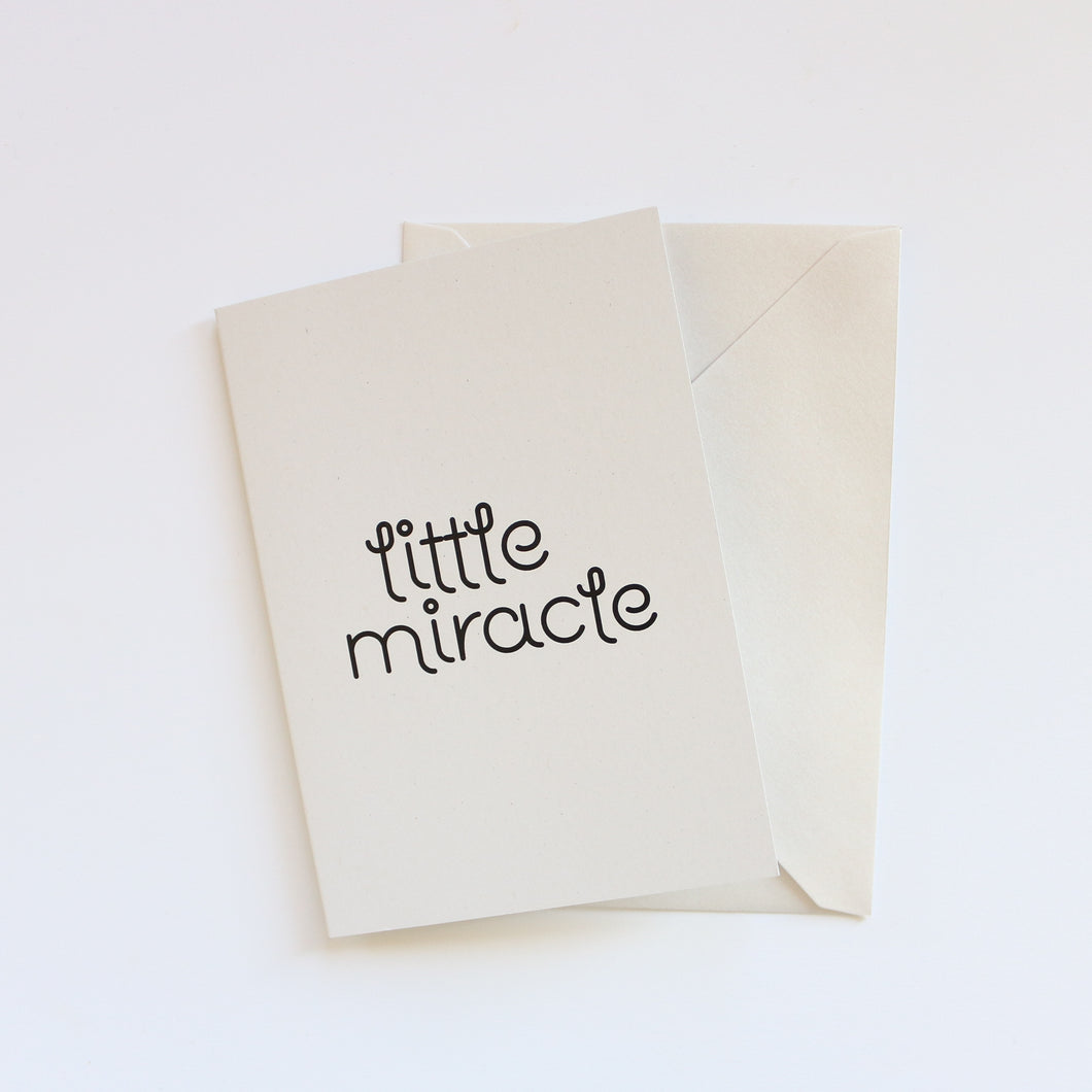 Premature Baby NICU Baby Gift Card Greeting Card