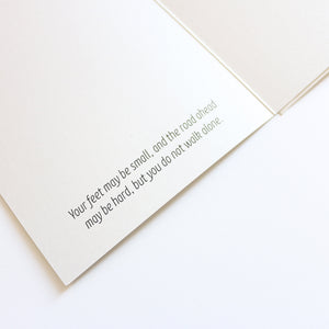 'Hello Little One' Greeting Card