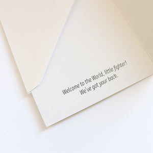 'Hello Baby' Greeting Card