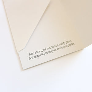 'Small but Mighty' Greeting Card