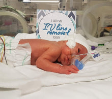 Load image into Gallery viewer, Premature Baby Micro-Prem Micropremmie NICU Milestone Cards