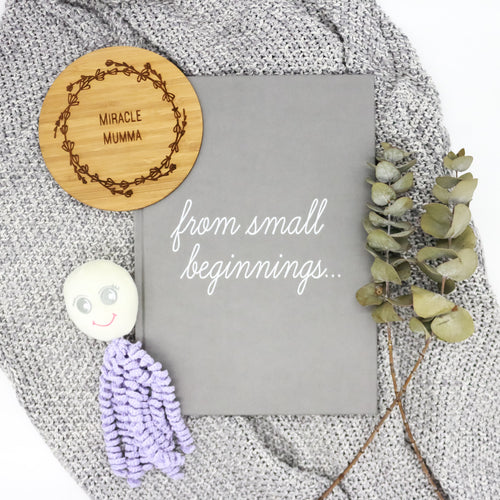 'From Small Beginnings' Premature Baby Record Book