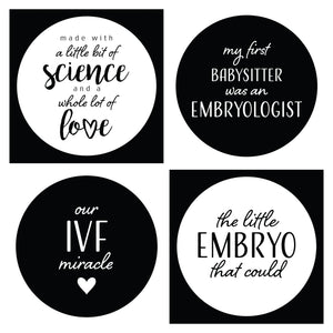 'IVF Got This!' Pregnancy Milestone Cards