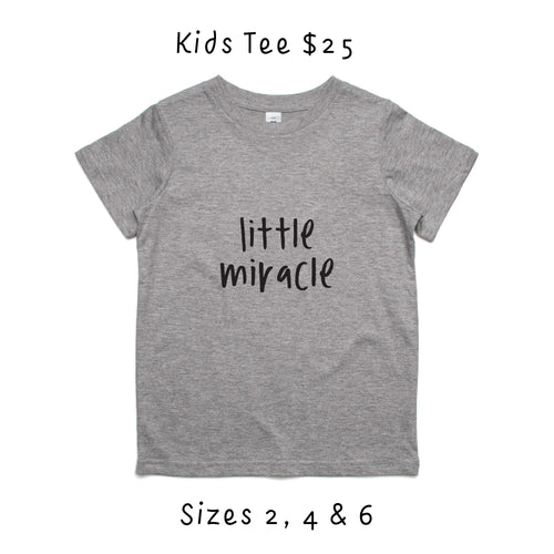 Kids 'Little Miracle' Tee - Fundraiser