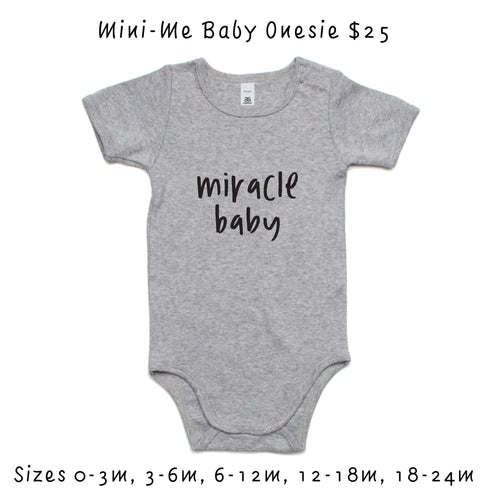 Baby 'Miracle Baby' Onesie - Fundraiser