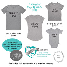 Load image into Gallery viewer, Men's 'Miracle Dad' Tee - Fundraiser