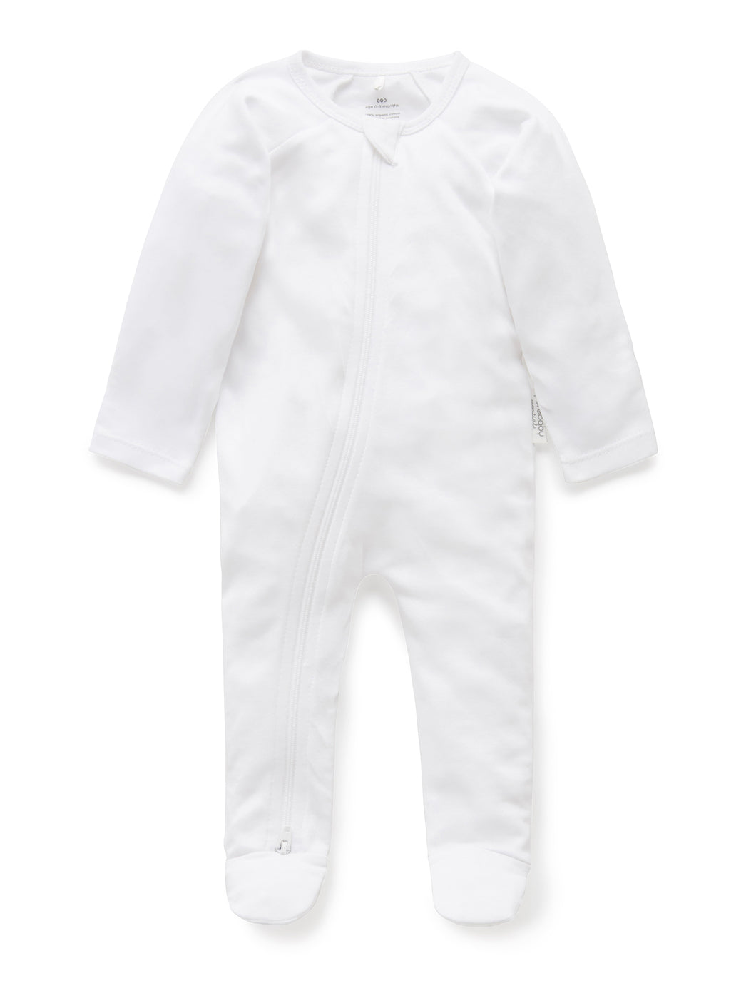 Pure Baby Zip Growsuit Premature Baby