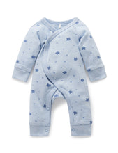 Load image into Gallery viewer, Pure Baby Premmie Crossover Growsuit Premature Baby Clothing
