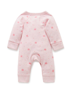 Pure Baby Premmie Crossover Growsuit Premature Baby Clothing