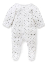 Load image into Gallery viewer, Pure Baby Premmie Velour Growsuit Premature Baby Clothing