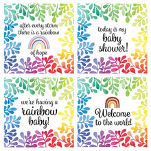 Load image into Gallery viewer, 'Rainbow Baby' Milestone Cards