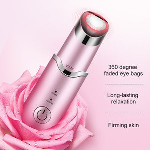 Luxebiotics™ Under Eye Dark Circles , Anti Aging ,Vibrating & Heating Massager