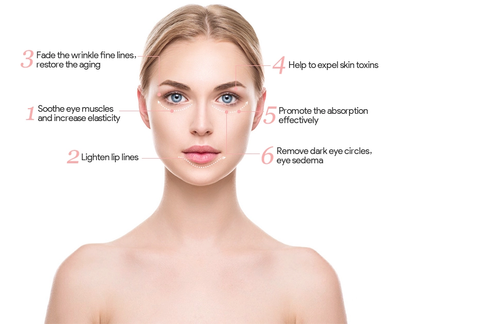 Image of Luxebiotics™ Under Eye Dark Circles , Anti Aging ,Vibrating & Heating Massager