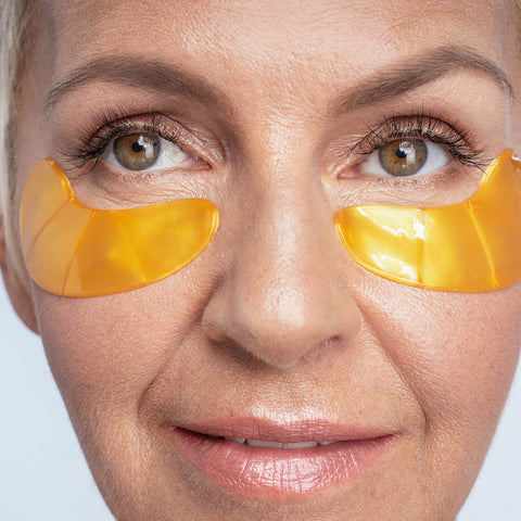 LuxeBiotics™  24K Pure Gold Under Eye Patches
