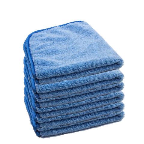 6 Microfiber Towels - Designed for Professional Detailing