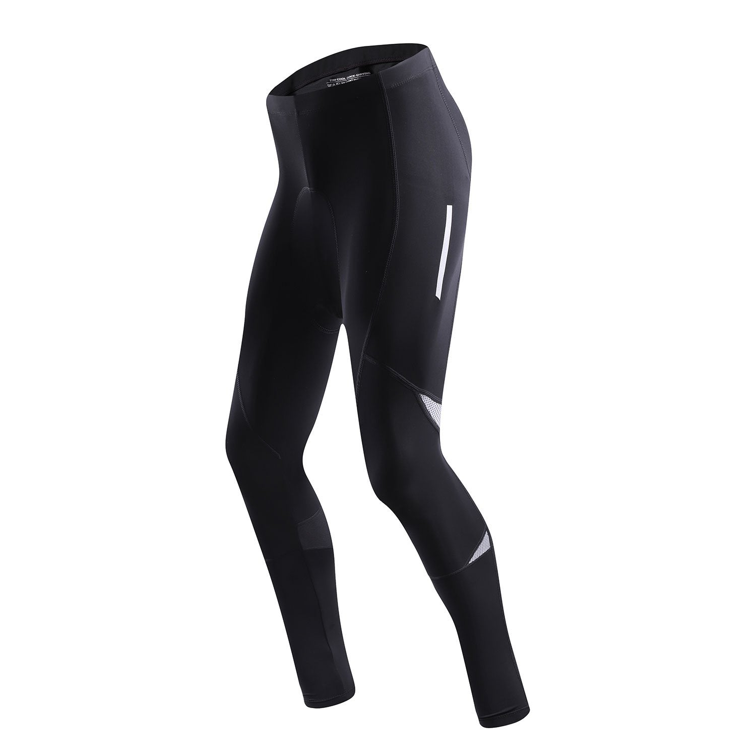 Men's Silicone Cushion Reflective Cycling Trousers