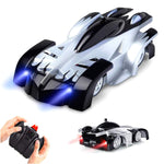 Kids Toy-Remote Control Car Wall Climbing, Dual Mode 360°Rotating Stunt Wall Climbing Car