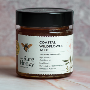 the rare honey company coastal wildflower ta10+ bioactive