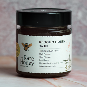 the rare honey company redgum ta10+ bioactive