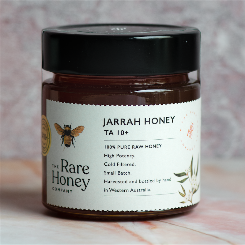 the rare honey company jarrah ta10+ bioactive