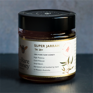 super jarrah the rare honey company ta20+ bioactive honey