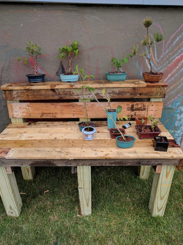 My Bonsai Bench