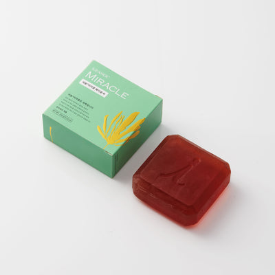 Seanol Miracle Essential Balance Cleansing Bar - Natural Facial Soap 100g