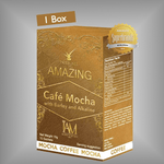 Amazing Café Mocha with Barley and Alkaline | Amazing Pure Barley