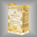 Amazing Café Latte with Barley and Alkaline | Amazing Pure Barley