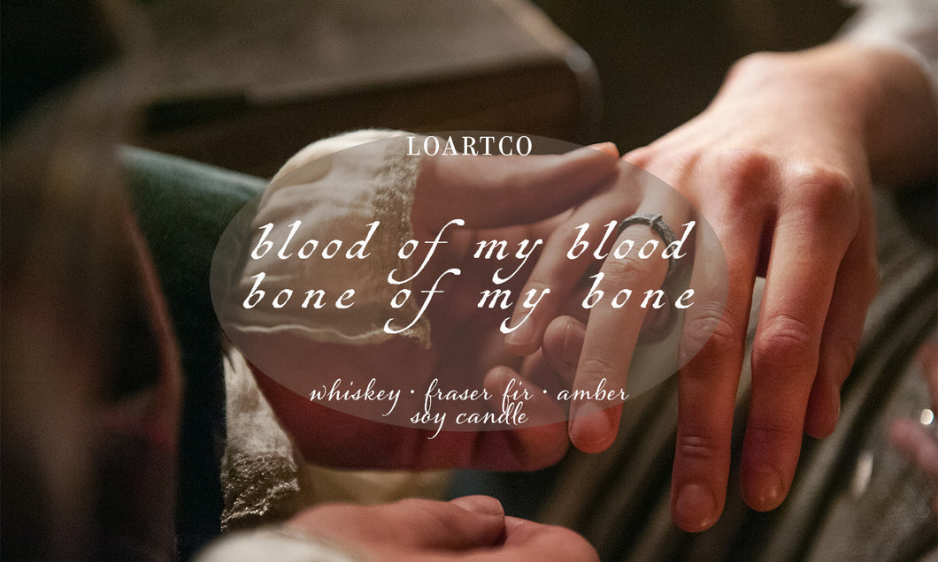 Bone of my Bone Soy Candle