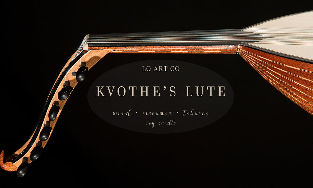 Kvothe's Lute Soy Candle