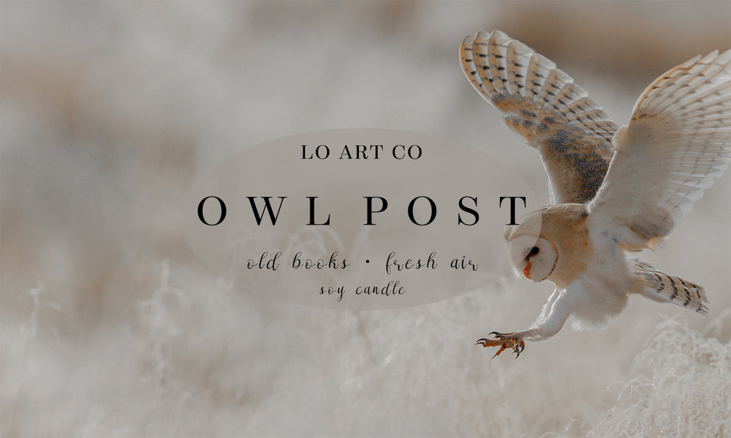 Owl Post Soy Candle