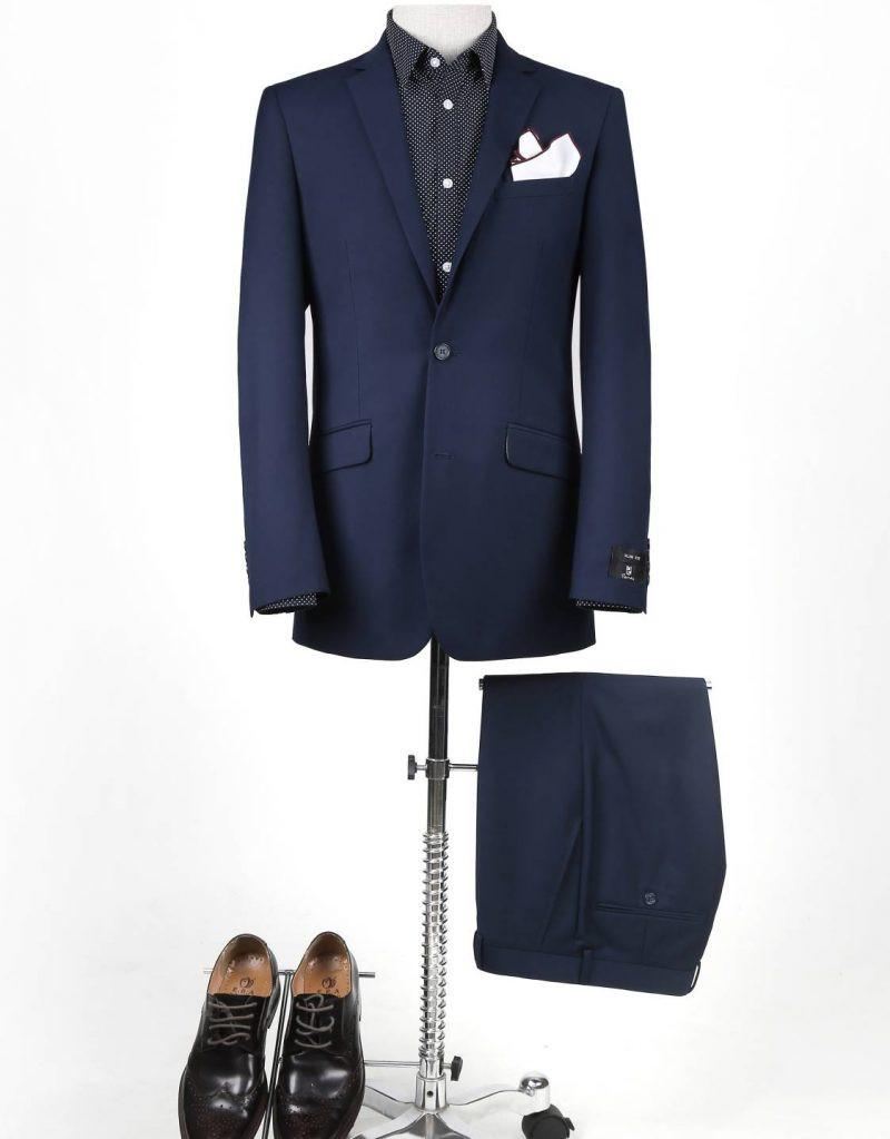 Navy Renoir 201-19 Slim fit