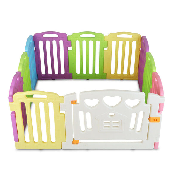 Baby Playpen | 11 Panel Gate & Fence Kit - Buytoys.com.au