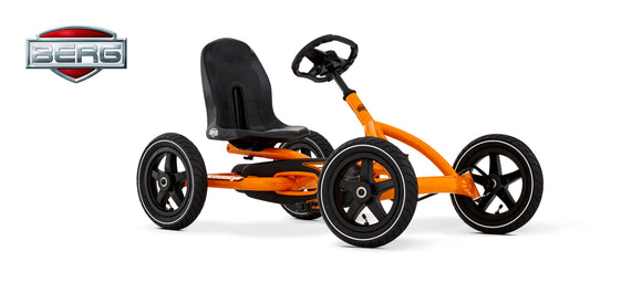 BERG Kids Pedal Go Kart | Buddy Orange - Buytoys.com.au