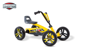 BERG Kids Pedal Go Kart | Buzzy Yellow - Buytoys.com.au