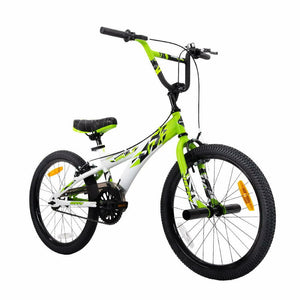 Huffy 20 Inch Double Take Kids Bicycle | Matte Lime / White - Buytoys.com.au