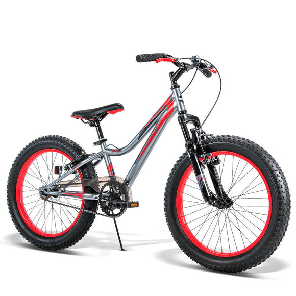 Huffy 20 Inch Swarm Kids Bicycle | Red / Charcoal - Buytoys.com.au