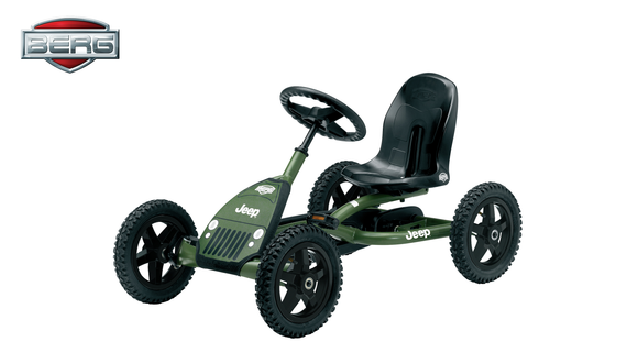 BERG Kids Pedal Go Kart | Jeep Junior - Buytoys.com.au