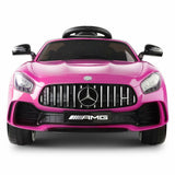 Mercedes Benz AMG GT R Licensed Kids Ride On Car | Pink - Buytoys.com.au