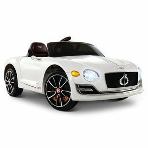 Bentley EXP12 Licensed Kids Ride On Car | White - Buytoys.com.au