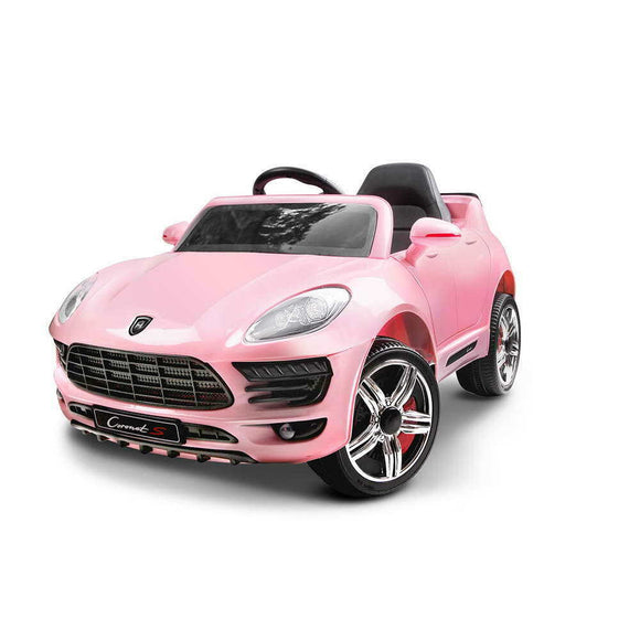 Rigo Porsche Macan Inspired Kids Ride On Car | Pink - Buytoys.com.au
