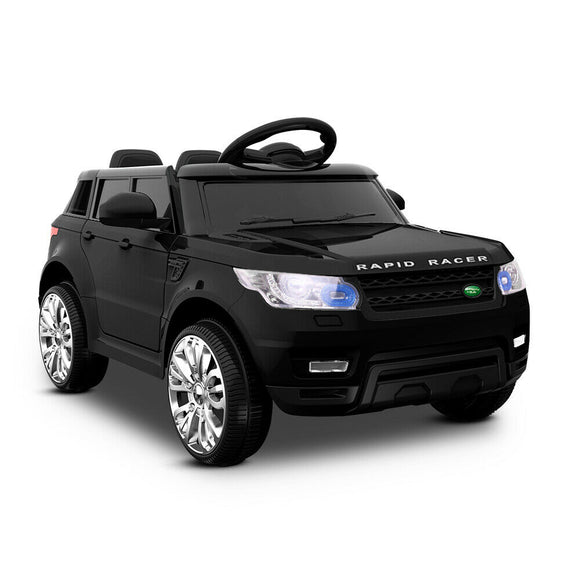 Rigo Range Rover Inspired Kids Ride On Car | Black - Buytoys.com.au