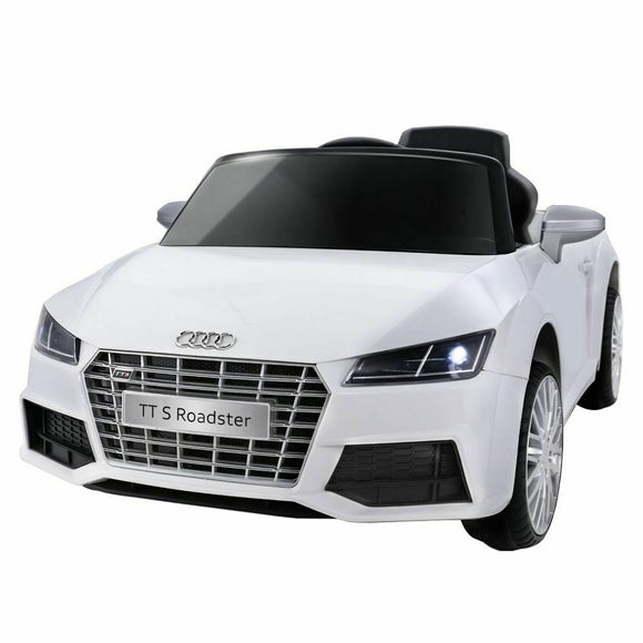 Audi TT RS Licensed Kids Ride On Car | White - Buytoys.com.au