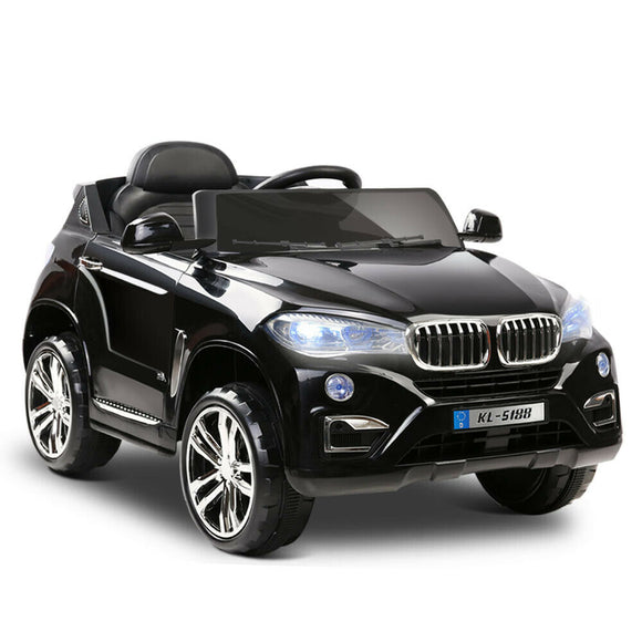 Rigo BMW X5 Inspired Kids Ride On Car | Black - Buytoys.com.au