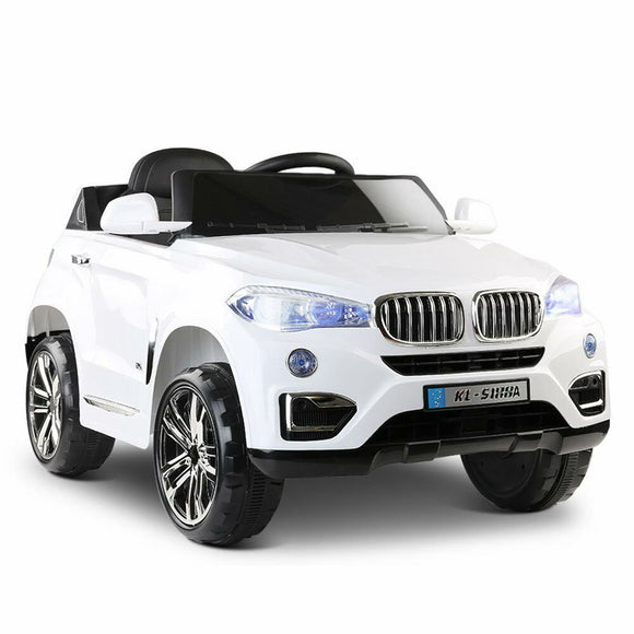 Rigo BMW X5 Inspired Kids Ride On Car | White - Buytoys.com.au