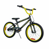 Huffy 20 Inch Pro Thunder Kids Bicycle | Black / Neon Yellow - Buytoys.com.au