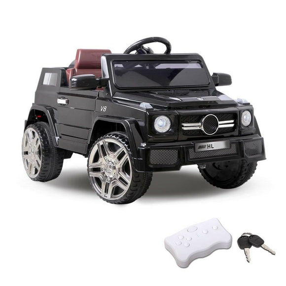 Rigo Mercedes Benz AMG 50 Inspired Kids Ride On Car | Black - Buytoys.com.au