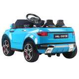 Rigo Range Rover Evoque Inspired Kids Ride On Car | Blue - Buytoys.com.au